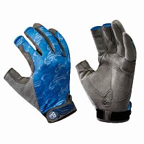 Buff Pro Series Fighting Work Gloves Skoolin Azure S/M