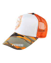 Forest Cap Orange Camo