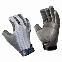 Buff Pro Series Fighting Work Gloves Grey Scale M/L