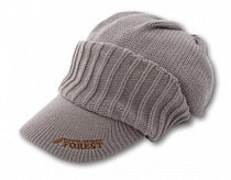 Forest Knit Cap Gray
